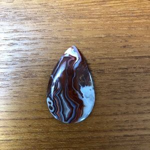 Gorgeous Red Crazy Lace Agate Cab